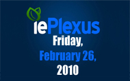 iePlexus Social Media News Brief: Friday, February 26, 2010